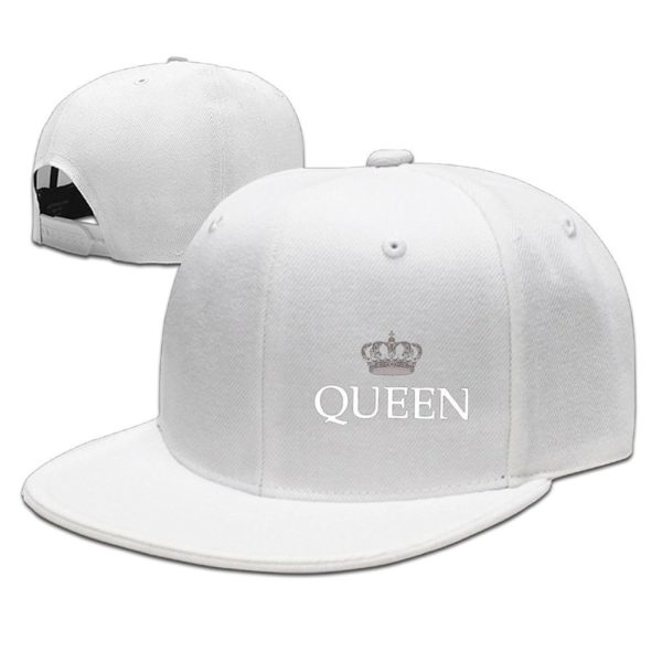 Updated King and Queen Couple Women Lover Baseball Caps Snapback Hats Cool Hat